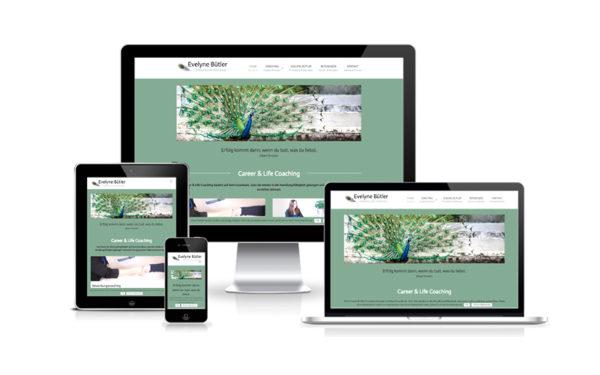 Webfotografik - Evelyne Buetler - Webdesign