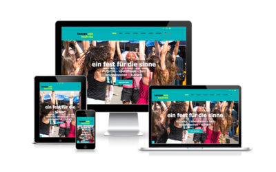 Webfotografik | Tanzenwienochnie Website