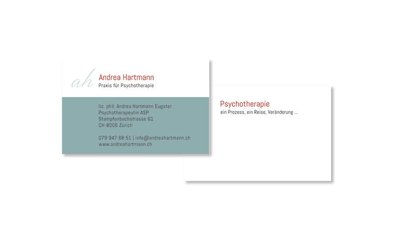 Webfotografik - Andrea Hartmann - Visitenkarten
