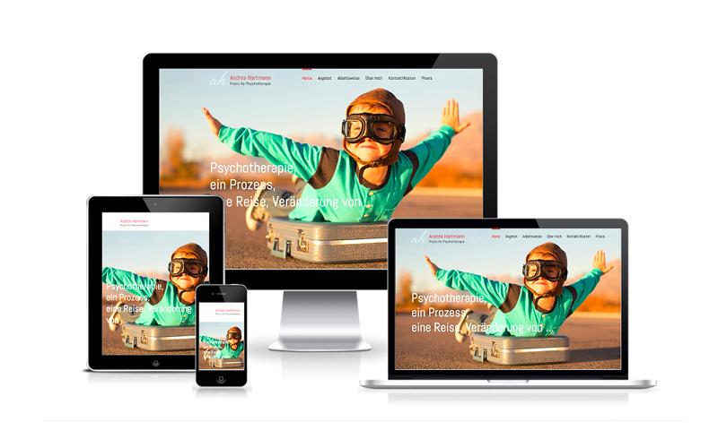Andrea Hartmann - Website - Webfotografik