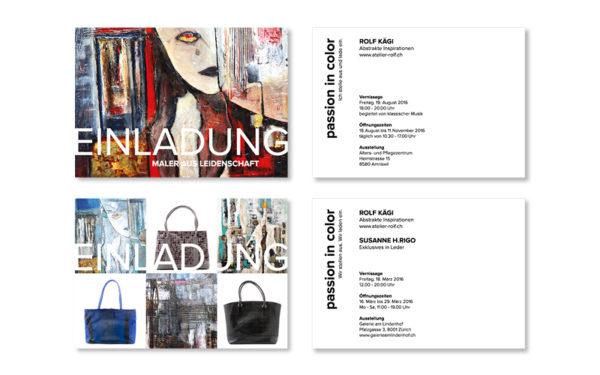 Webfotografik - Atelier Rolf - Einladungskarten