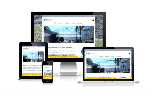 Webfotografik - Basis57 - Website
