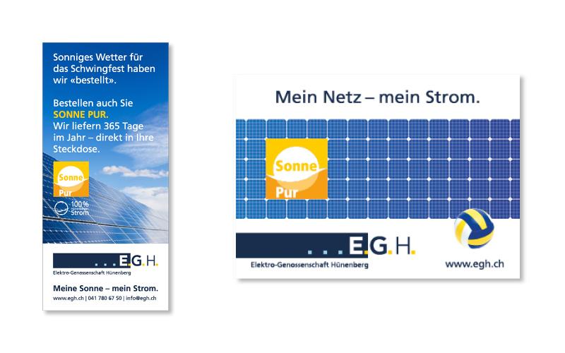 Webfotografik - EGH Hünenberg - Photovoltaik-Inserate