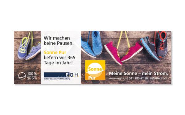 Webfotografik - EGH Hünenberg - Plakat Sportevent