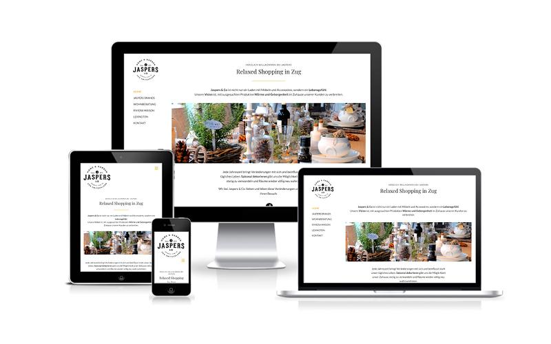 Webfotografik - Jaspers Zug - Website