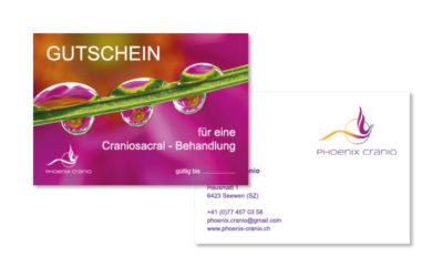 Webfotografik - Phonix Cranio Gutschein
