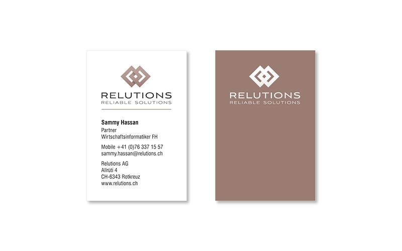 Webfotografik - Relutions - Visitenkarten