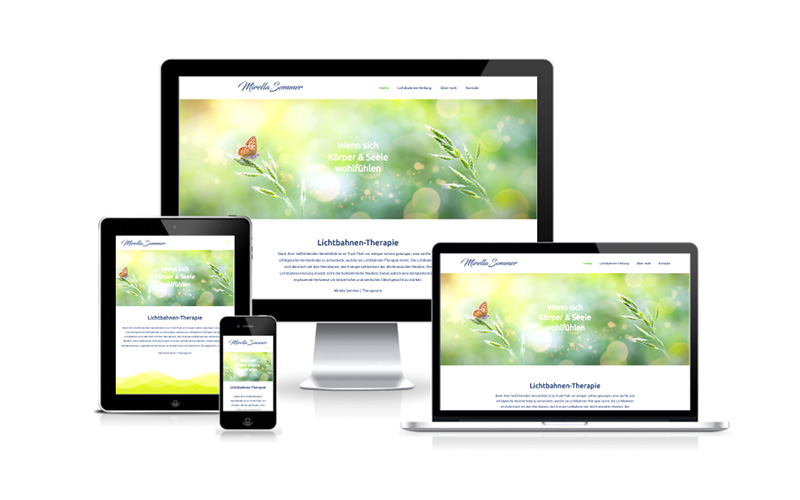 Webfotografik - Mirellasommer - Website
